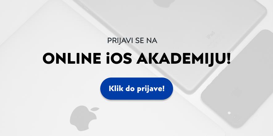 Prijava na remote iOS akademiju u Factoryju